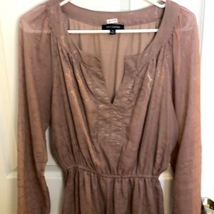 Max Edition taupe dress